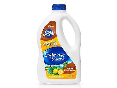 Detergente líquido Sensaciones del Ecuador limón hierbaluisa 1500ml