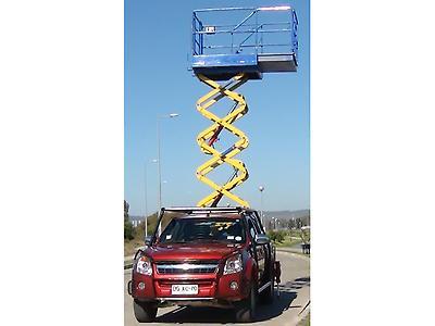 Plataforma de tijera para montar en camión o camioneta