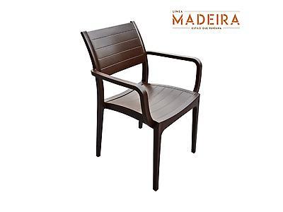 Silla Madeira Con Brazos - Pica Muebles