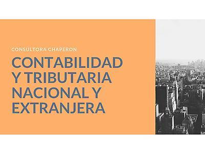 Contabilidad y Tributaria Nacional y Extranjera
