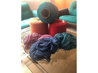 Hilo Acrilico de varios Colores - Venta por KG