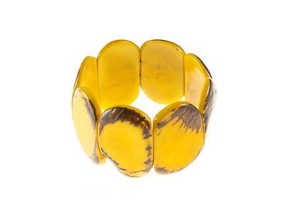 Carved Ivory Tagua Bracelet