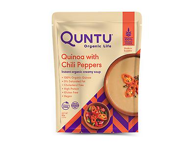 INSTANT QUINOA SOUP WITH CHILI PEPPERS