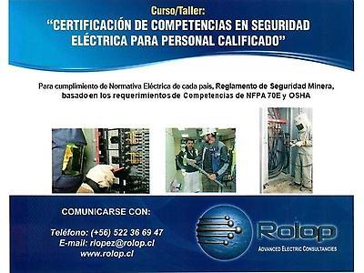 Certificación de Competencias en Seg.Eléctrica