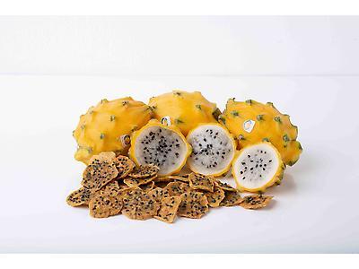 Fresh yellow dragon fruit