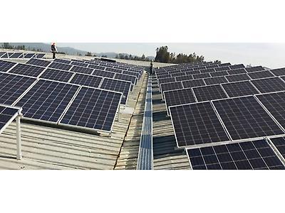 Construcción de plantas solares