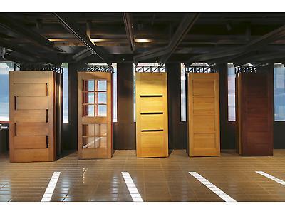 Puertas sólidas de madera lenga