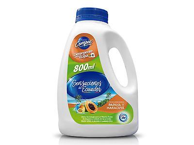 Detergente líquidos Sensaciones del Ecuador limón hierbaluisa 800ml