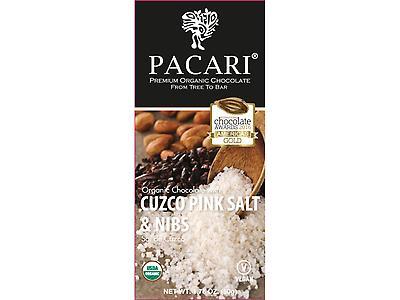 Barra de chocolate de 50 gr. con Sal de cuzco y nibs