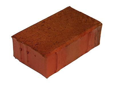 "Adoquín Rectangular Con Separador, Clay Paver with Spacer Nibs, [05x10x21 cm], [4""x8""x2""]"