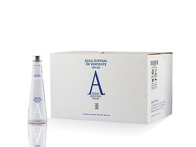 Andes Mountain Spring Water Still 250ml Glass
