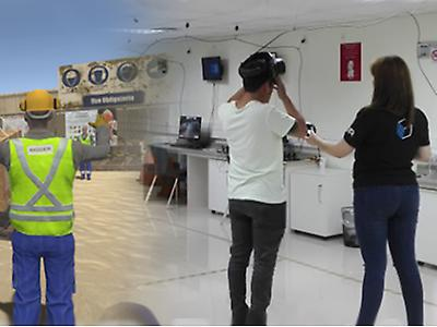 VR Training  interactive