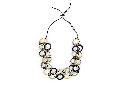 Long Ring of Life Tagua Necklace