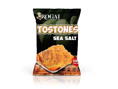 TOSTONES DE SABORES Y NATURAL BANANAS ROGAI