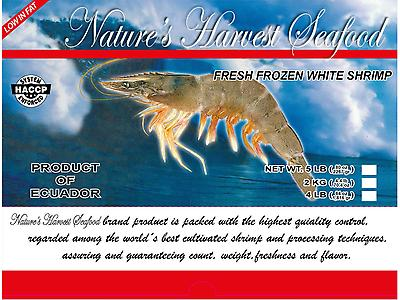 Frozen White Headon Vannamei Shrimp,
