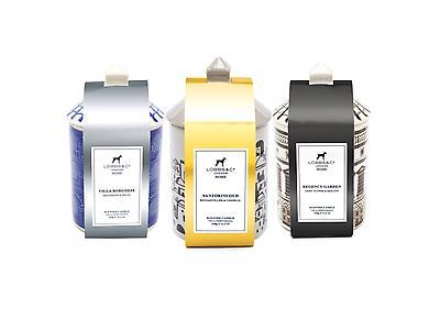 Velas perfumadas de diseño Lobbs&Co. London 215g/ 7,5 Oz. - 320g/ 11,2 Oz.