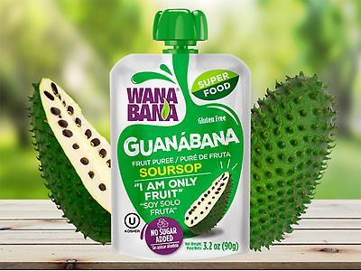 PURÉ DE GUANÁBANA 3.2 oz (90g)