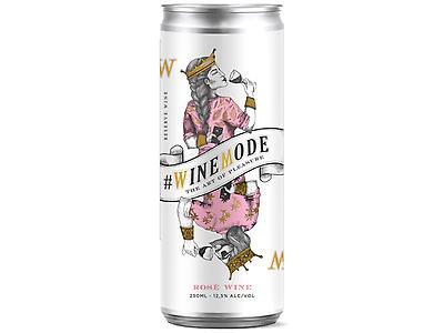 #WINEMODE ROSE - VINO EN LATA 250ML