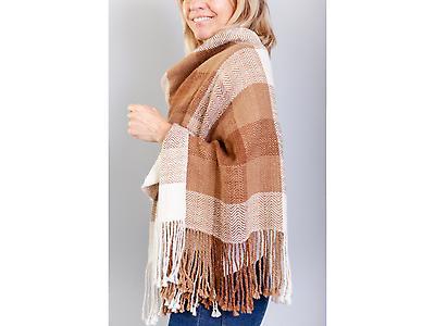 Mix colors shawl