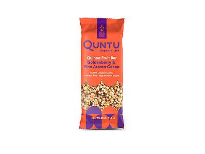 QUINOA WITH GOLDENBERRY AND FINE AROMA COCOA CEREAL BAR
