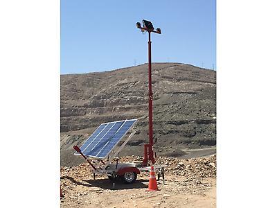 Torre Autónoma Solar Iluminación