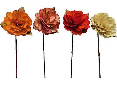 ROSA ALBA SURTIDO, Colores tomate, amarillo, palo de rosa y terracota. Largo 66cm x Ancho 12cm. Empaque 160 Unidades