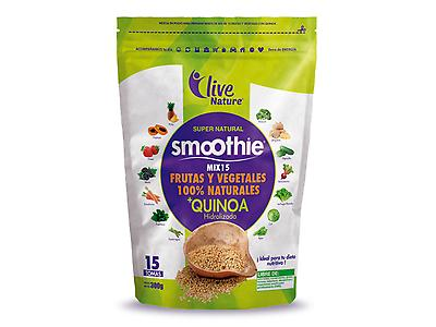 Super Natural Smoothie Frutas y vegetales doypack 300 g