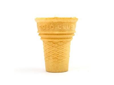 Vaso de masa dulce moldeado
