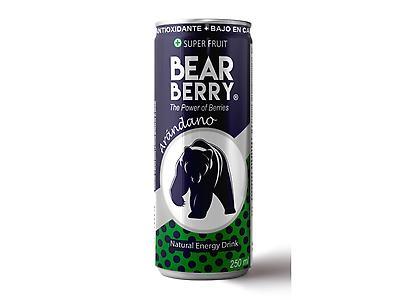 Bebida energética Bear Berry arándano 250 ml