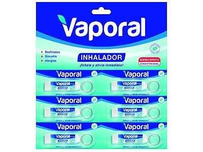 Vaporal Inhalador, 60g (x6 unid)