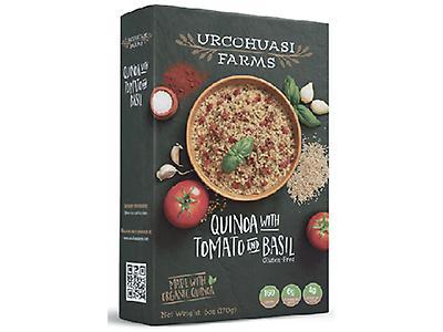 Quinua con Tomate y Albahaca - Urcohuasi Farms