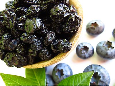 Infused Dried Blueberries