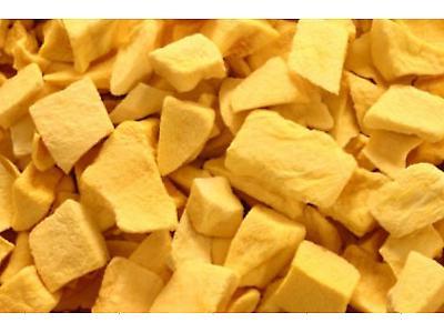 Mango liofilizado en chips
