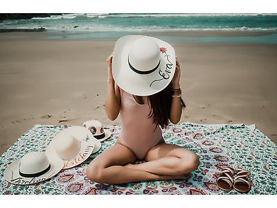 Sombreros Ala grande con nombres