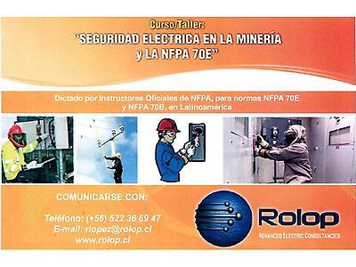 """""""Seguridad Eléctrica en la Minería y la NFPA 70E"""""""
