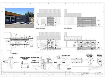 Dibujo de planos de arquitectura