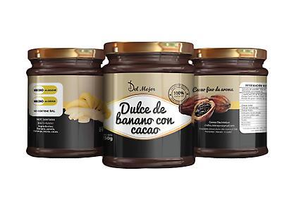 Dulce de Banano con Cacao Fino de Aroma