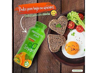 SOYARD - bebida de soya sabor naranjilla