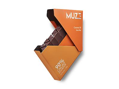 MUZE 90% Cacao with Inca Nut & Coconut Oil