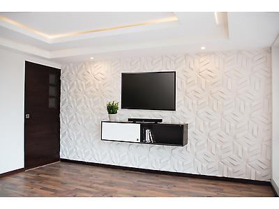 Revestimientos tridimensionales para uso decorativo en pared