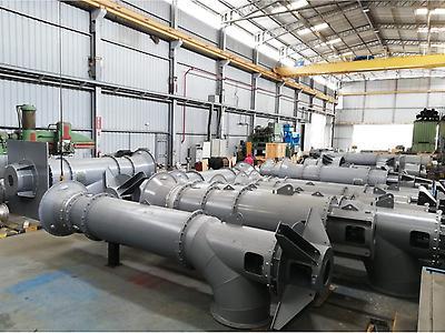 Bombas de flujo axial y flujo mixto diseñadas a la medida