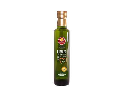 Aceite de linaza 250 ml  prensado en frio