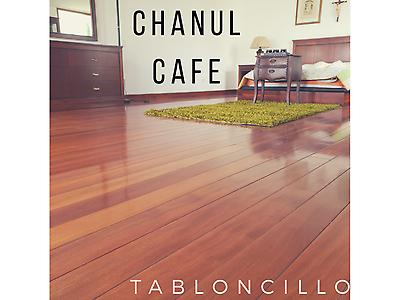 Piso de Tabloncillo de Chanul Café