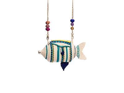 Blow Fish Handbag