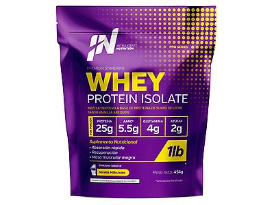 Whey Protein Isolate 454g