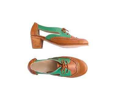 Zapato Pecora Rebeca Camel