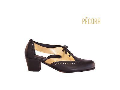 Zapato Pecora Rebeca Negro