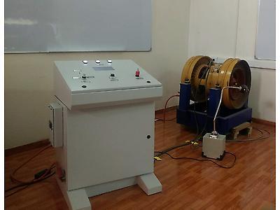 Banco de pruebas para motores DC Blower