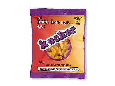 KUCKER Chifle de dulce vainilla 50g / 200g