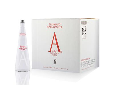 Andes Mountain Water Sparkling 750ml Glass